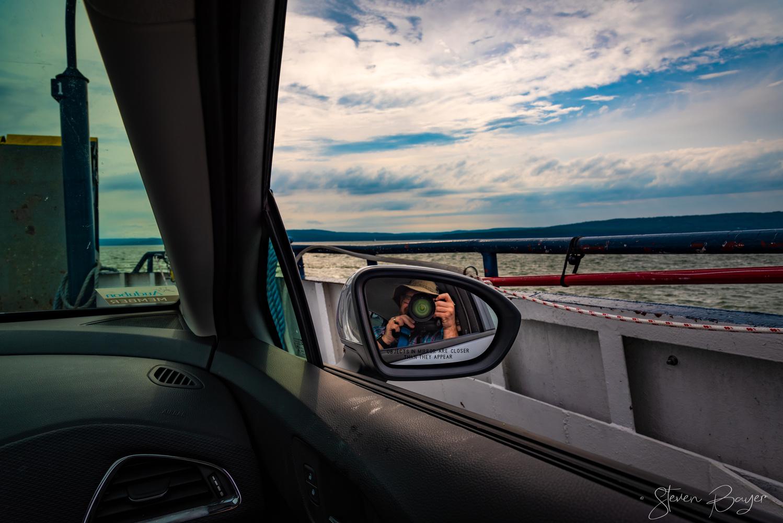 Cruisin' on a Ferry by Steve Bayer