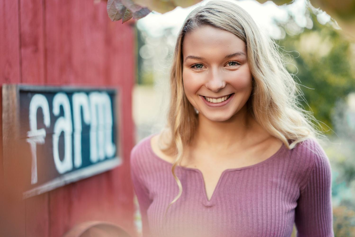 Farm Girl by Christopher Doelman