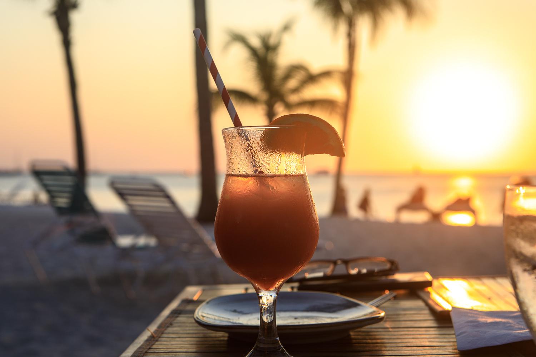 Sunset dinner in Aruba by Ben sussman