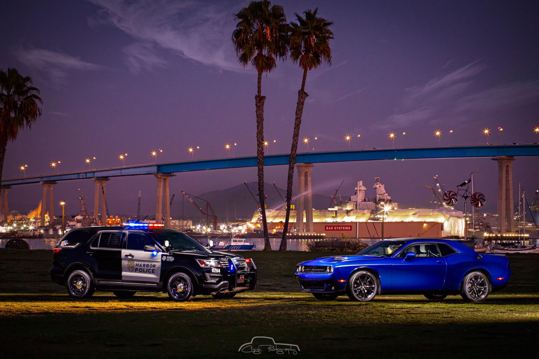 San Diego Harbor Police by Creigh McIntyre