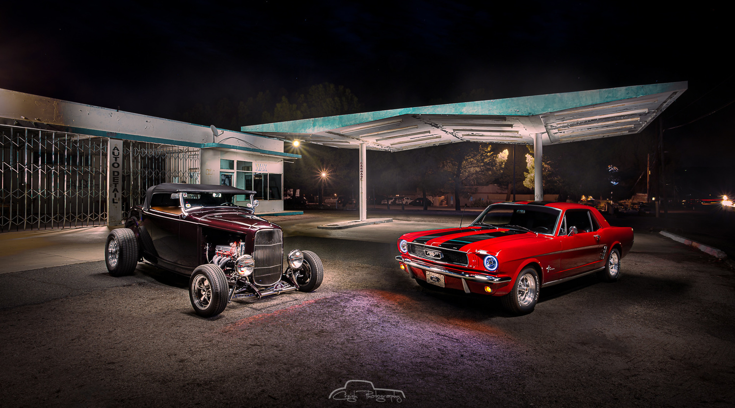 Jacumba Gas Station by Creigh McIntyre