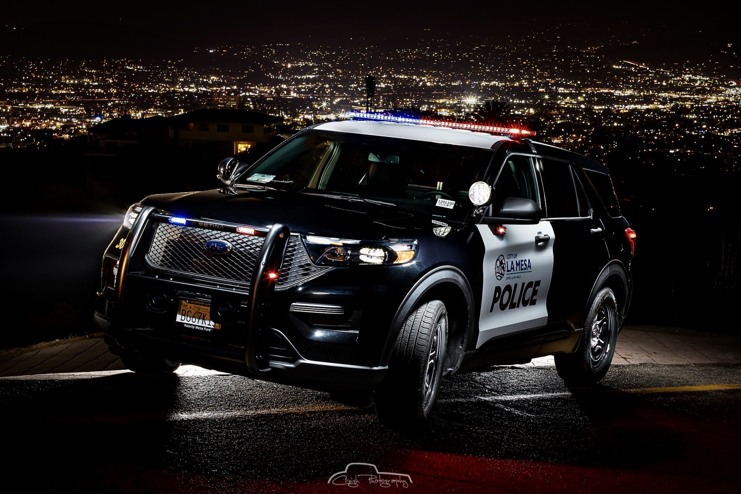 La Mesa Police 2021 Police Utility by Creigh McIntyre