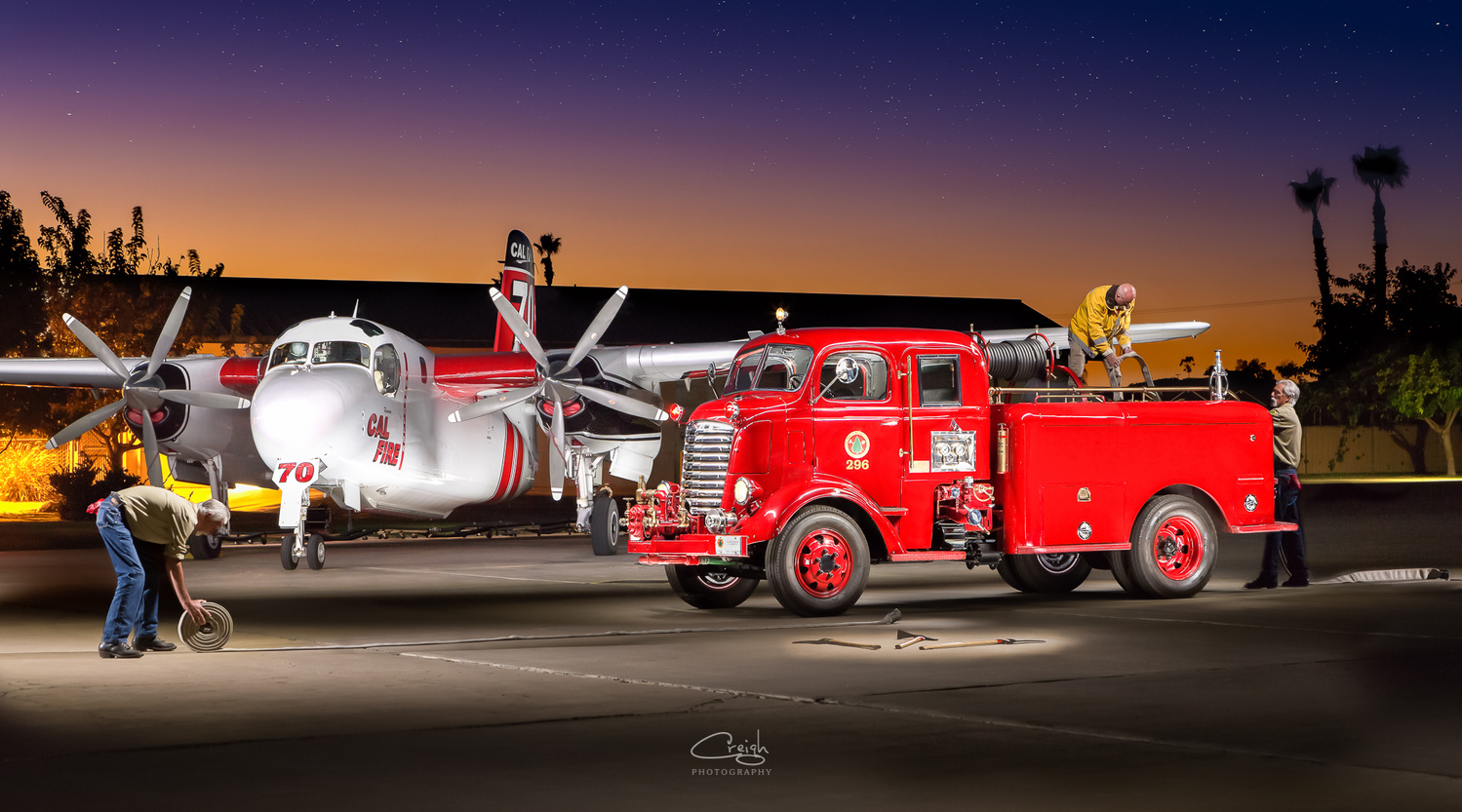 Long Days Fighting Fires by Creigh McIntyre
