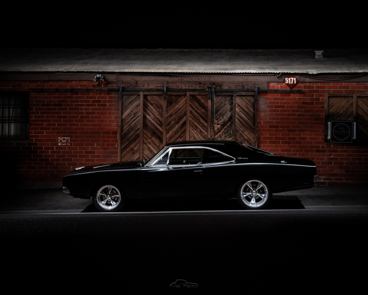 69 Charger profile Resto Mods by Creigh McIntyre