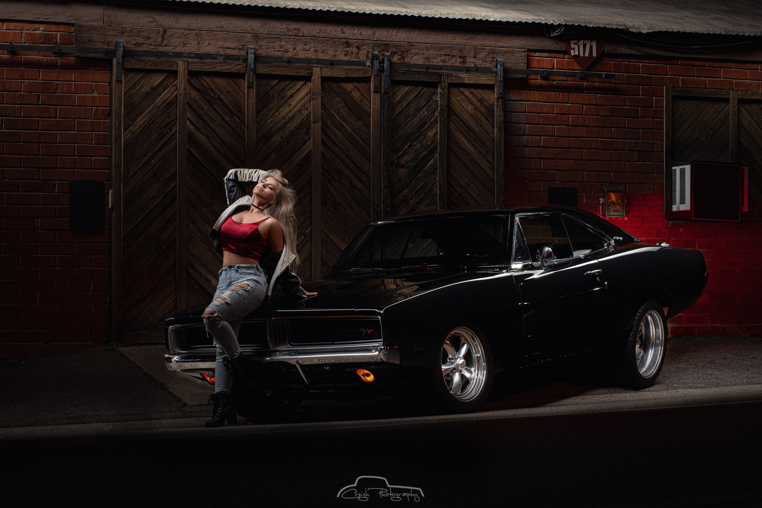 Sabrina and the Charger by Creigh McIntyre