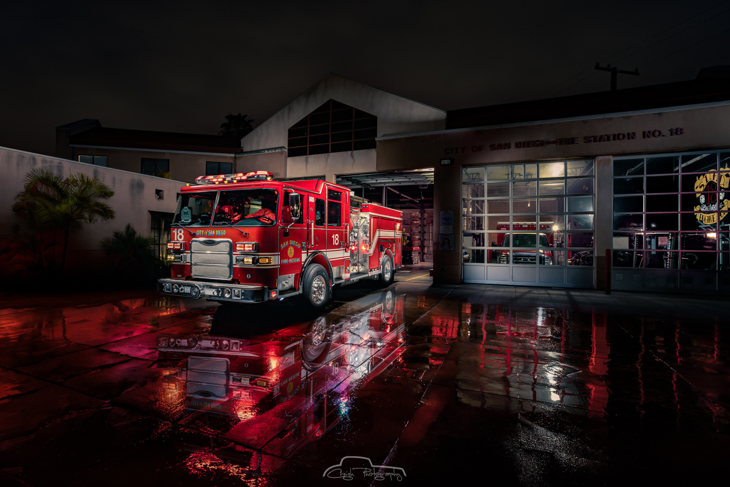 SDFD Station 18 by Creigh McIntyre