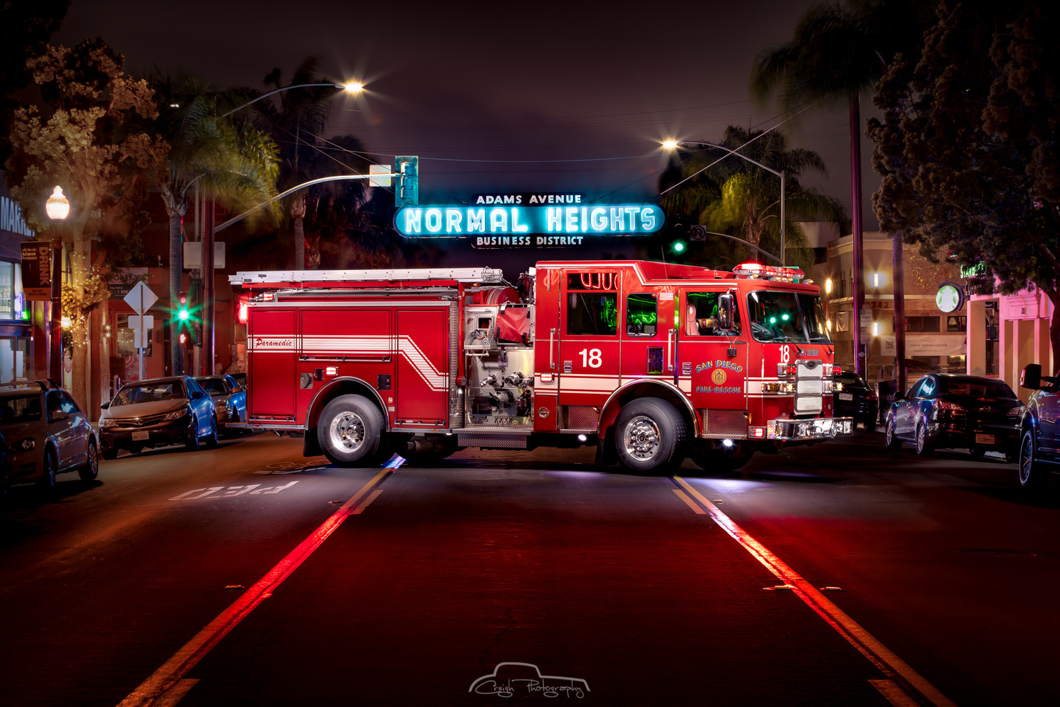 Engine 18 Normal Heights by Creigh McIntyre