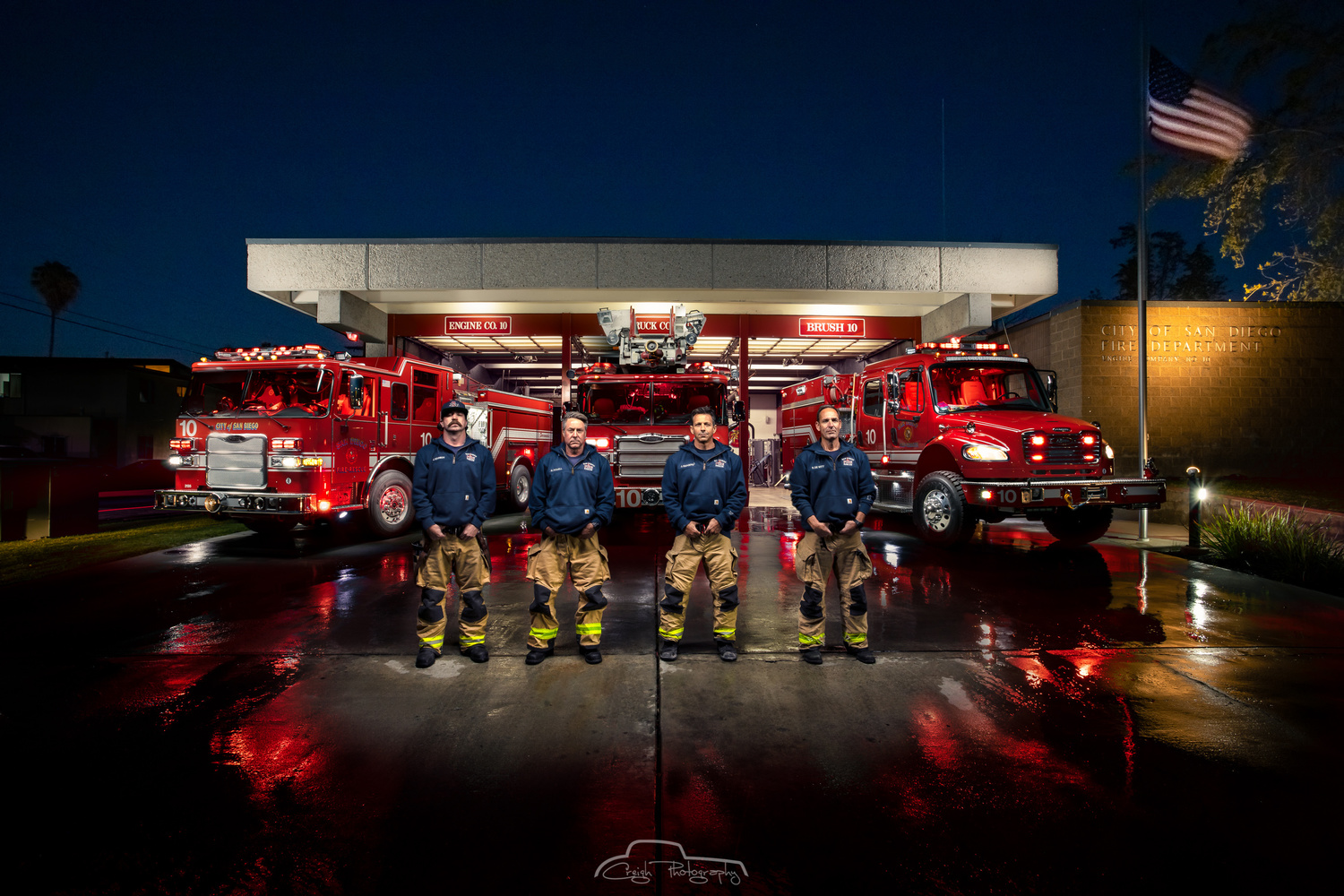SDFD Station 10 by Creigh McIntyre