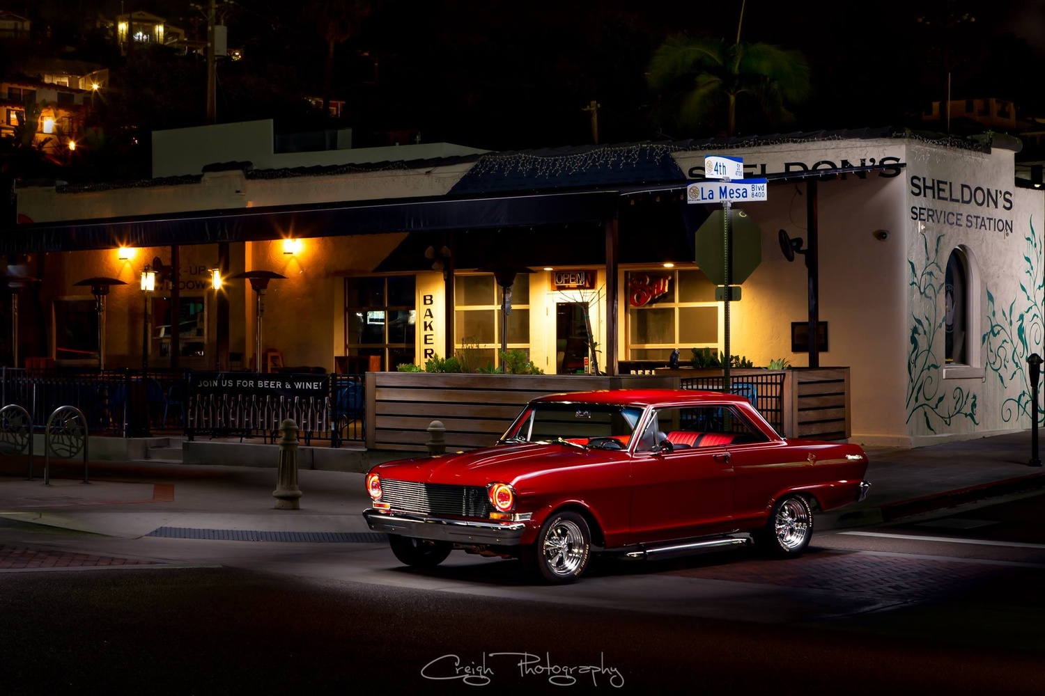 One Bad V8 by Creigh McIntyre