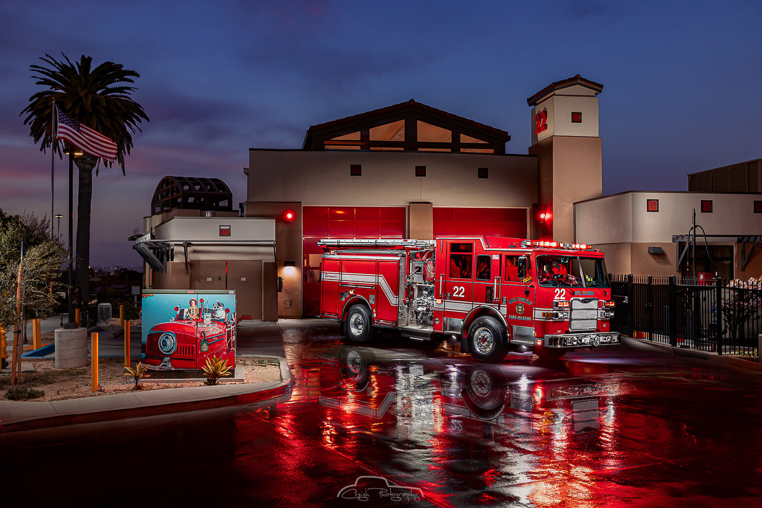 San Diego Fire Station 22 Point Loma by Creigh McIntyre