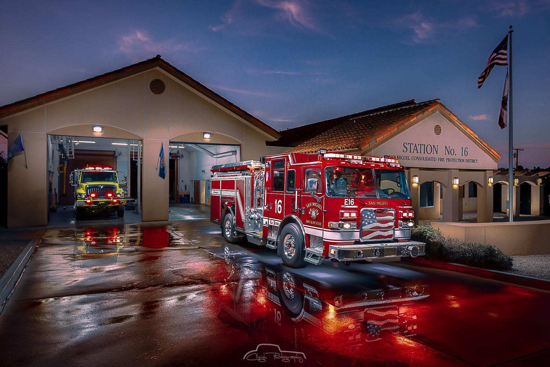 San Miguel Fire Station 16, La Presa by Creigh McIntyre