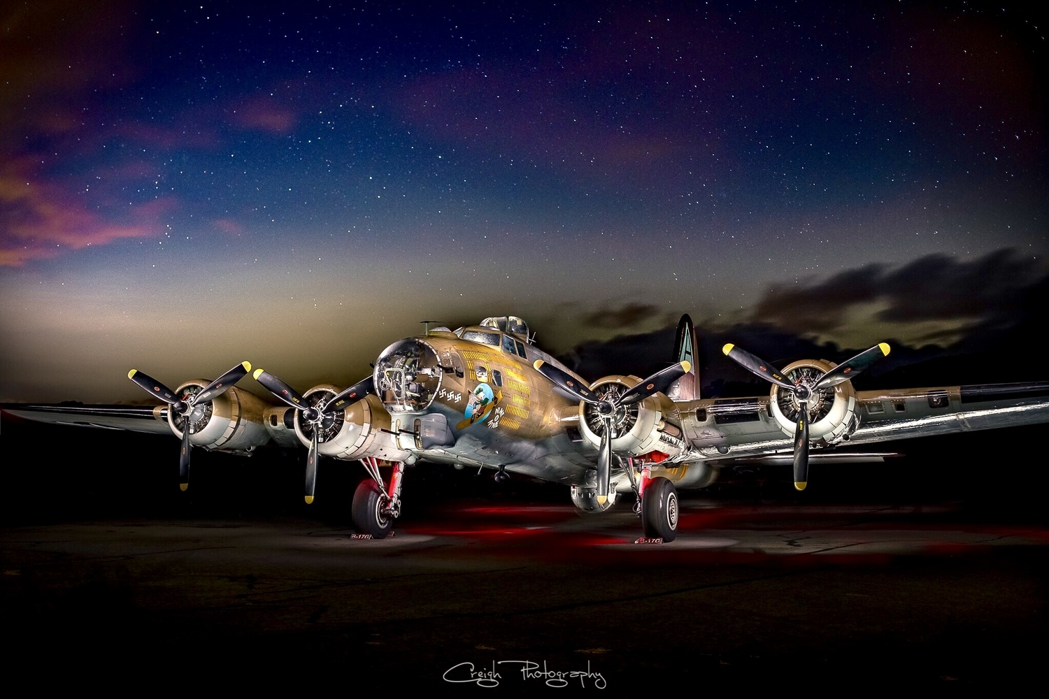 Flying Fortress by Creigh McIntyre