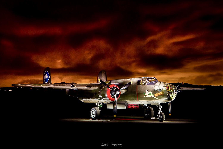 "B-25 Mitchel ""Tondelayo"" by Creigh McIntyre"