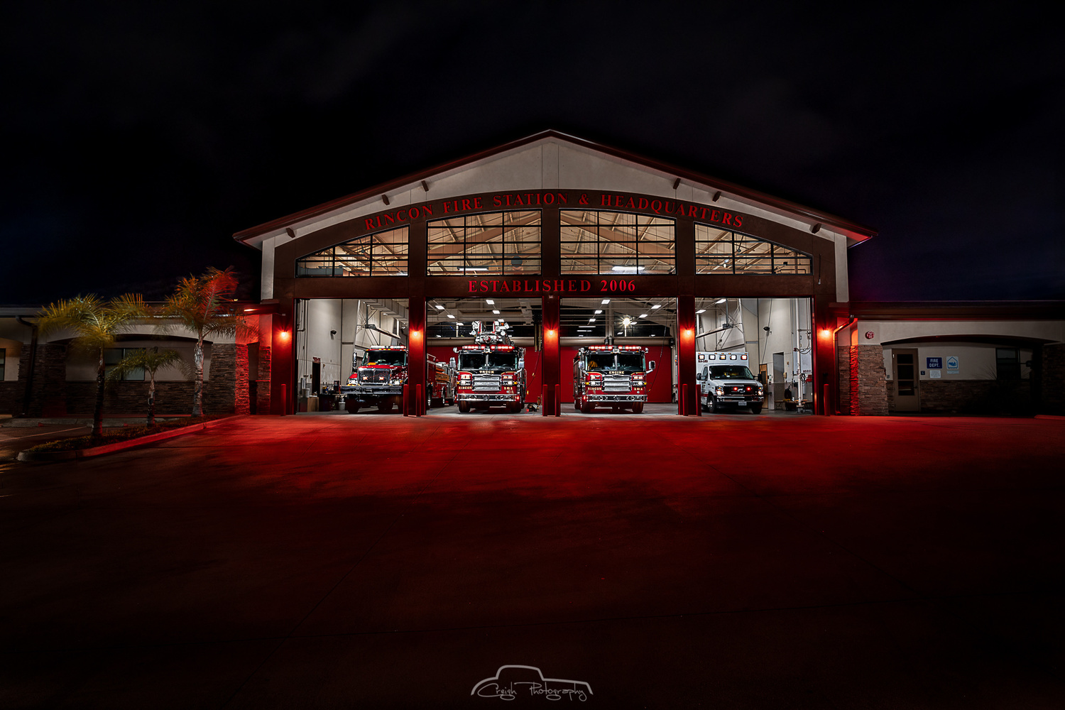Rincon Fire Dept. by Creigh McIntyre