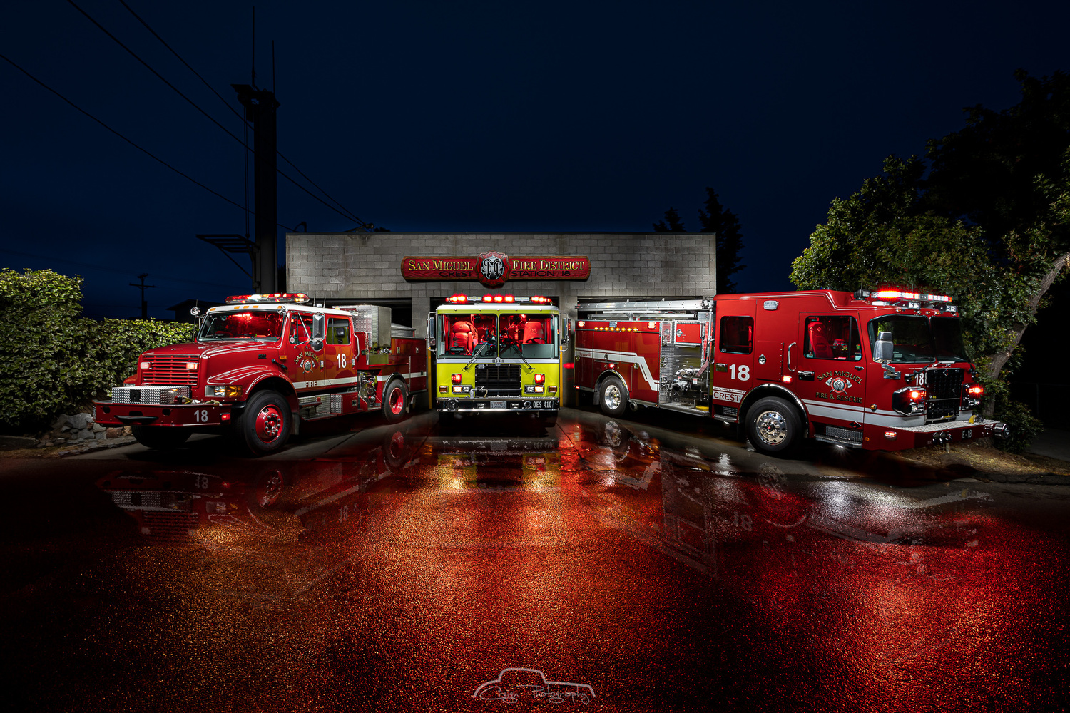 San Miguel Fire Station 18. by Creigh McIntyre