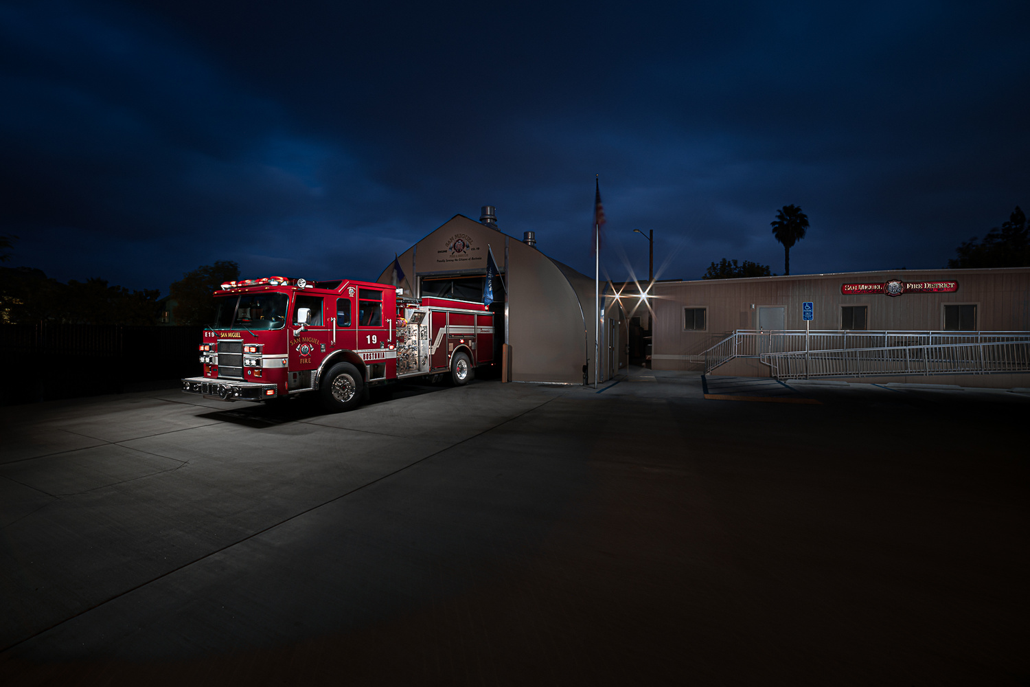 San Miguel Fire Station 19, Bostonia by Creigh McIntyre