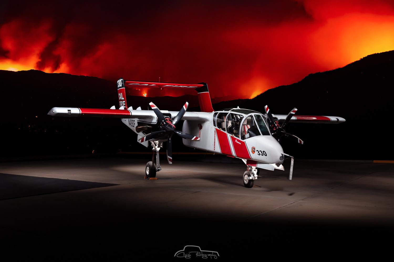 Cal Fire's OV-10 Bronco by Creigh McIntyre