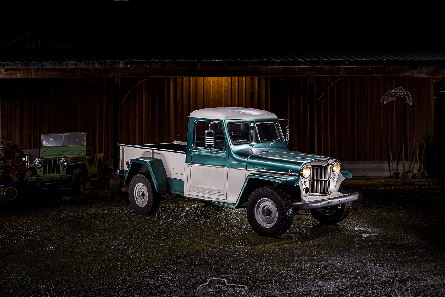 Jeep Pickup by Creigh McIntyre