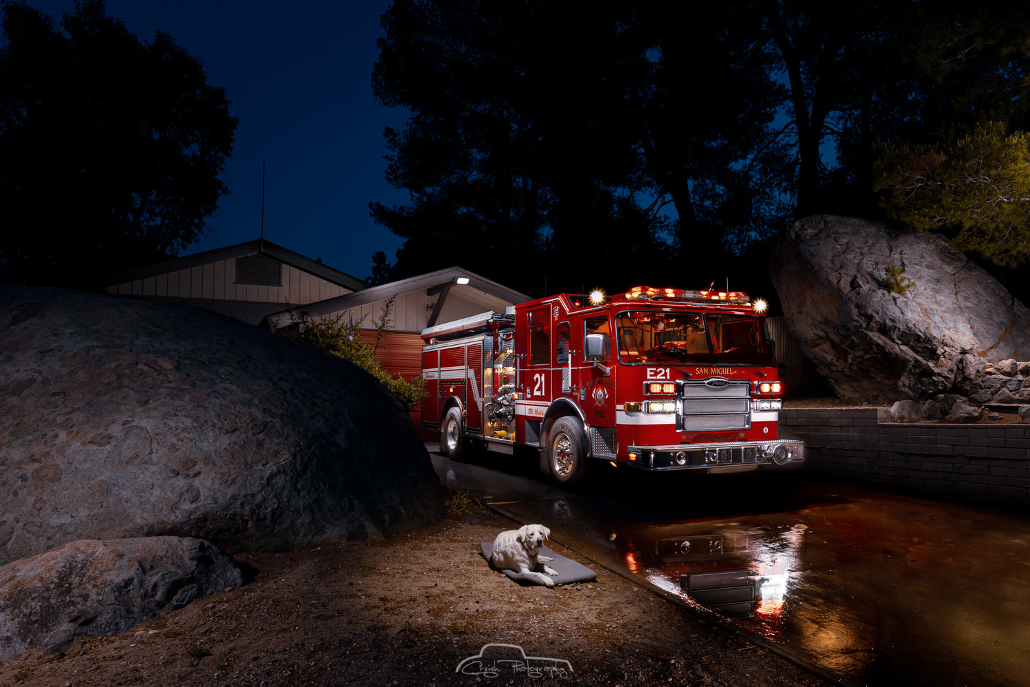 San Miguel Fire Station 21 by Creigh McIntyre