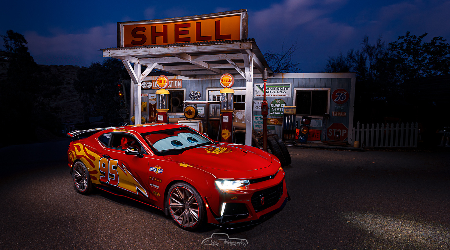 Lightning McQueen by Creigh McIntyre