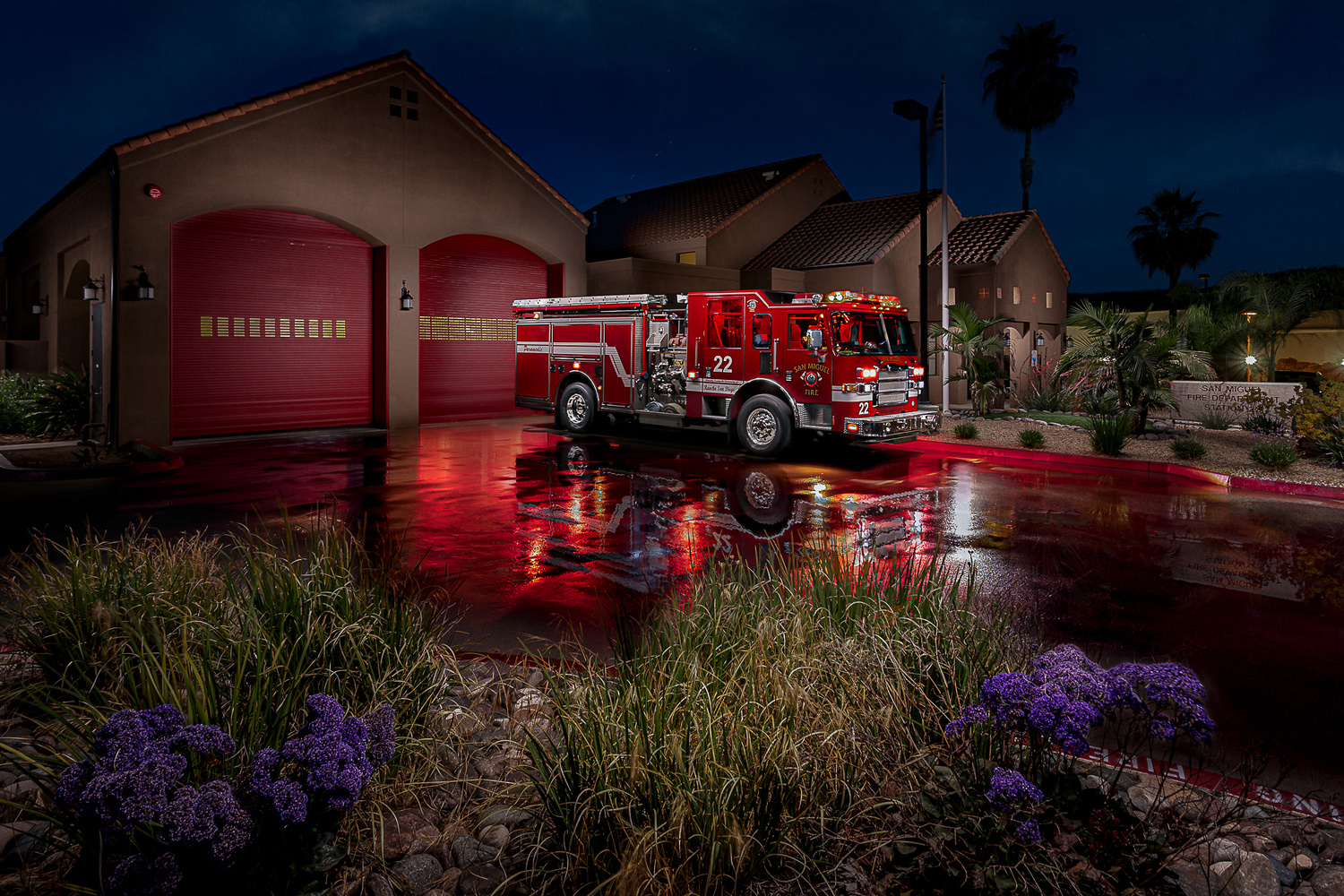 San Miguel Fire Station 22 by Creigh McIntyre