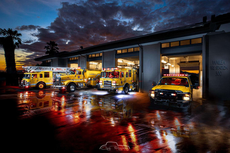 Maui Fire Station 14 Wailea by Creigh McIntyre