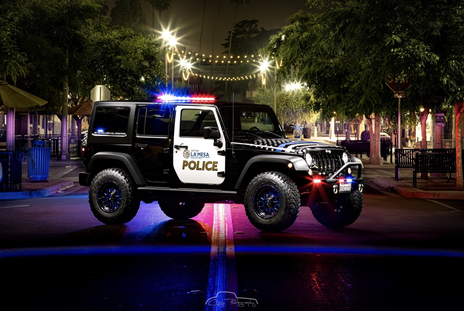 To Protect, Serve, and Off-road by Creigh McIntyre