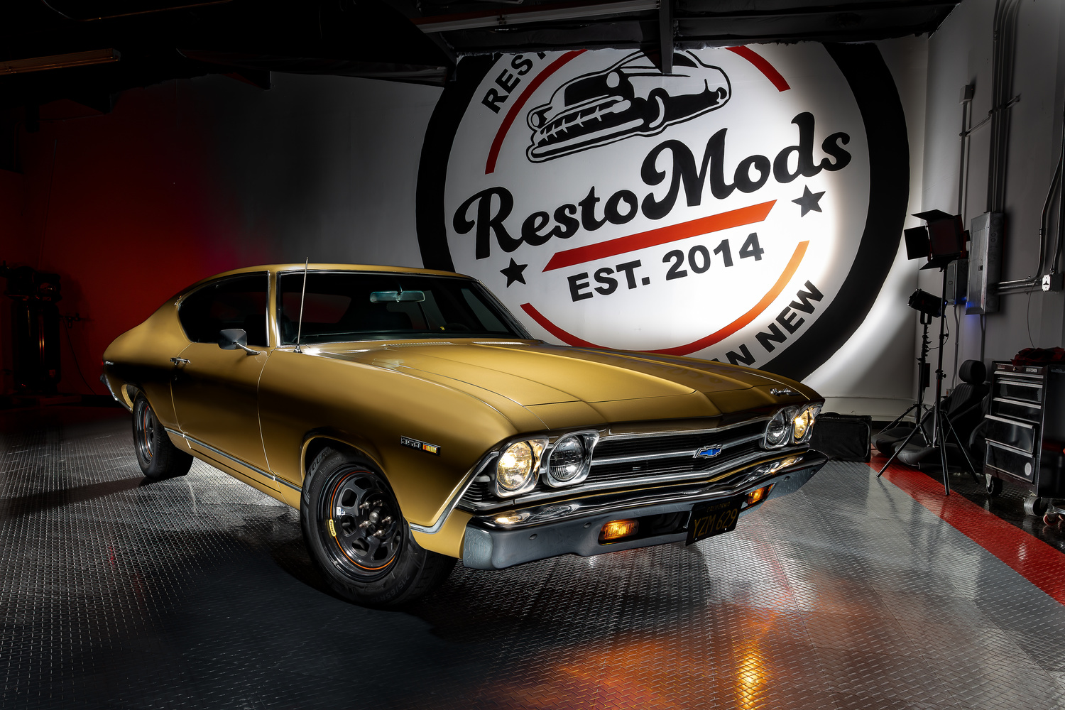 Restomods Chevelle by Creigh McIntyre