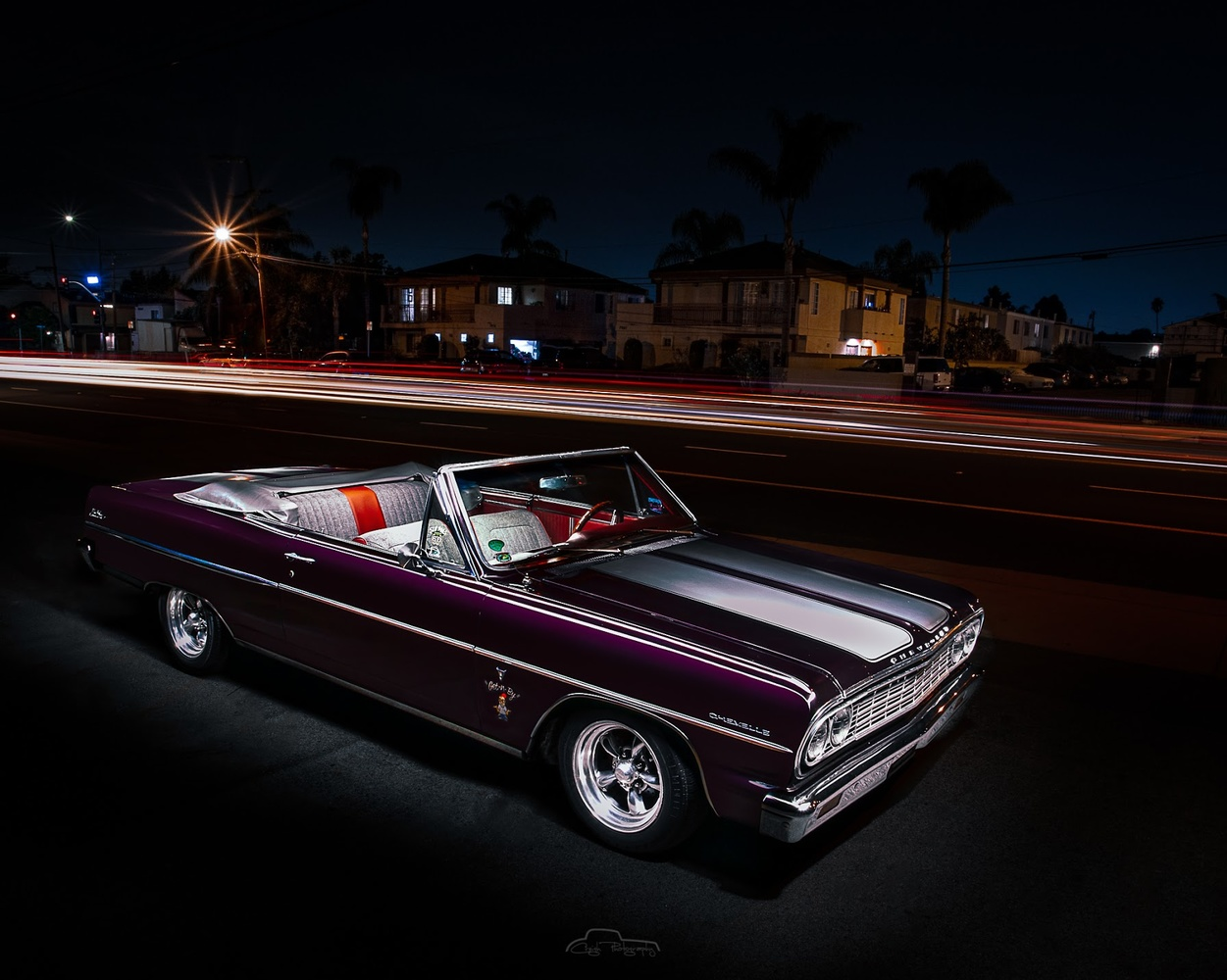 Black Cherry Chevelle by Creigh McIntyre