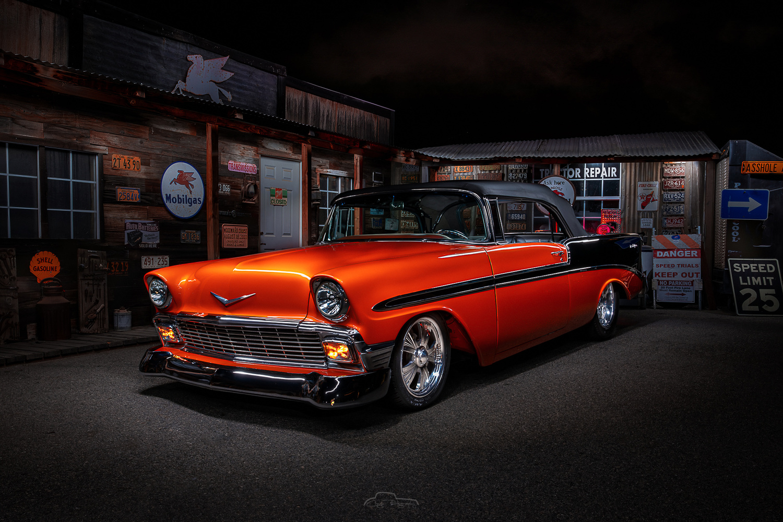 56 Chevy Bel Air by Creigh McIntyre