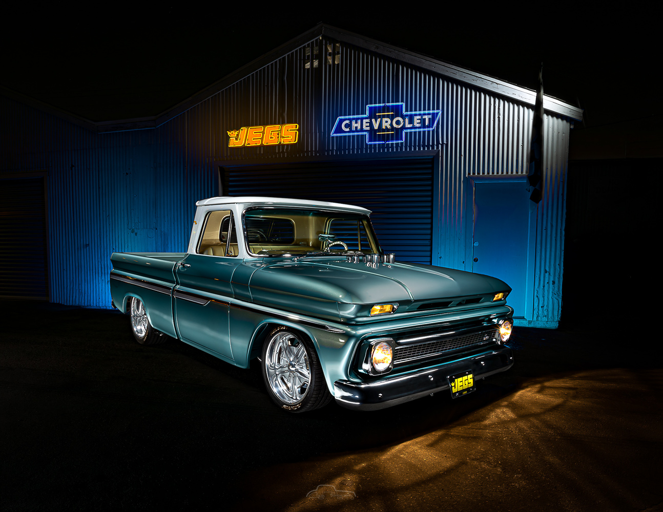 Jegs Chevy C10 by Creigh McIntyre