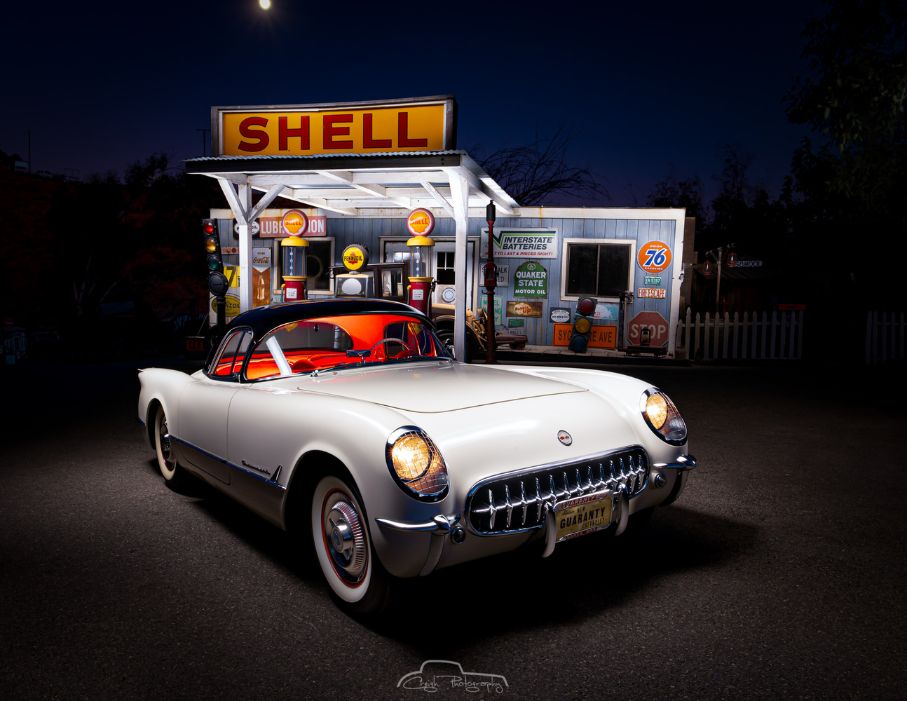 First Year '53 Chevy Corvette by Creigh McIntyre