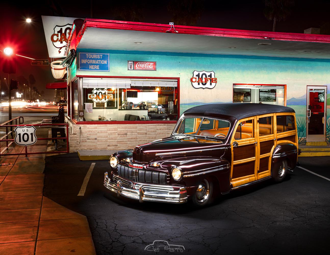 46 Mercury Woody by Creigh McIntyre
