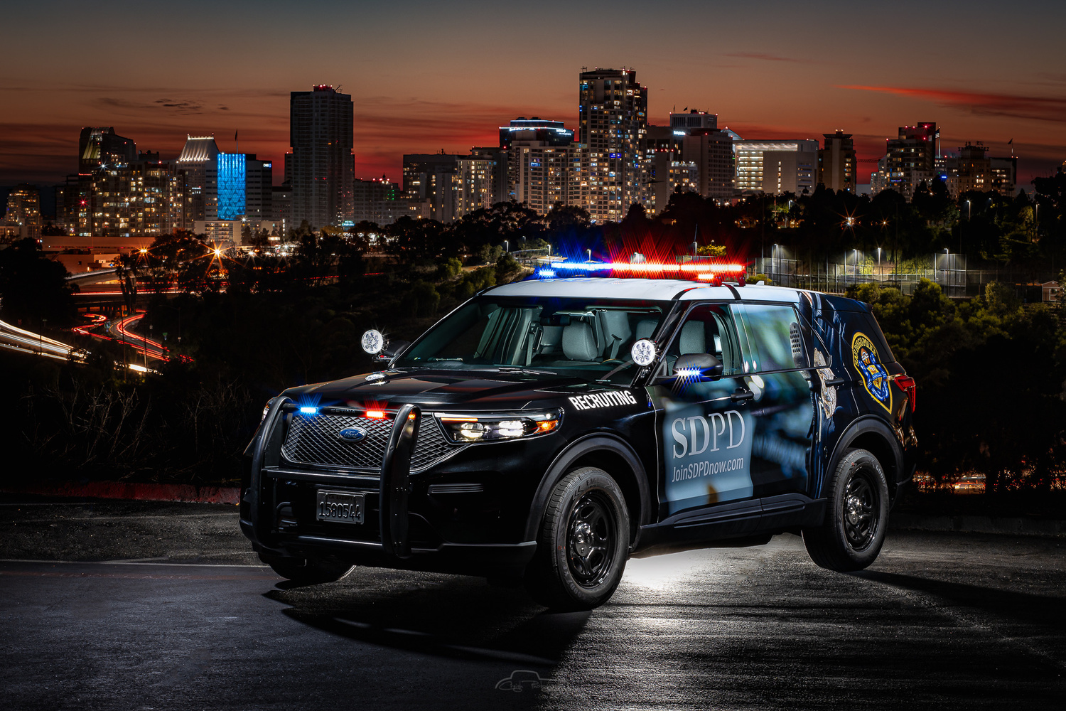 San Diego Police Recruiting by Creigh McIntyre