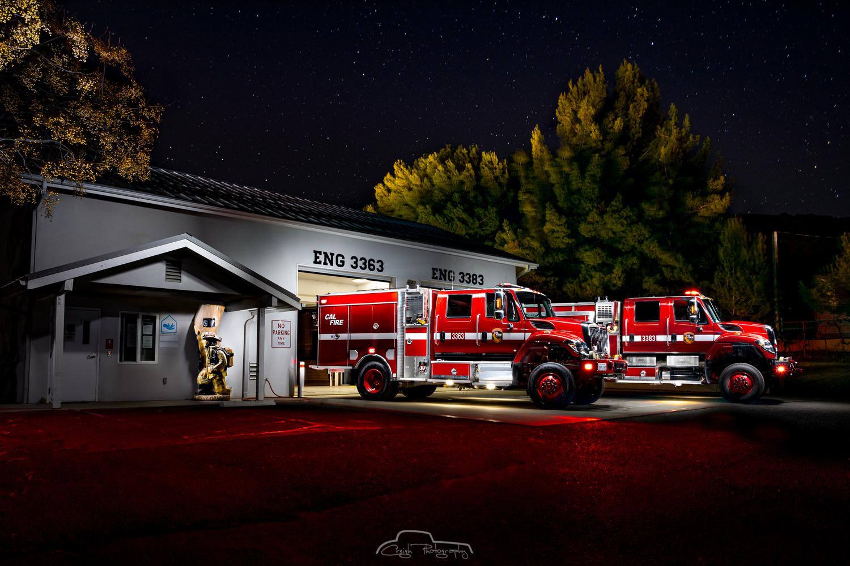 Cal Fire Station 30 San Diego Unit Dulzura by Creigh McIntyre