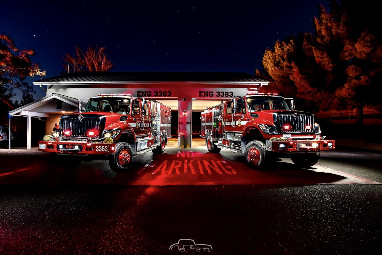 Cal Fire San Diego Station 30 Dulzura by Creigh McIntyre
