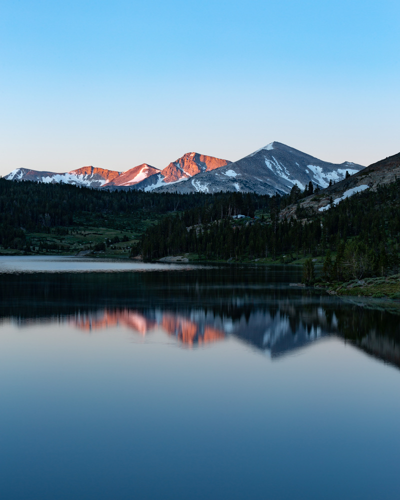 Tioga Lake at Sunrise by Grant Henninger