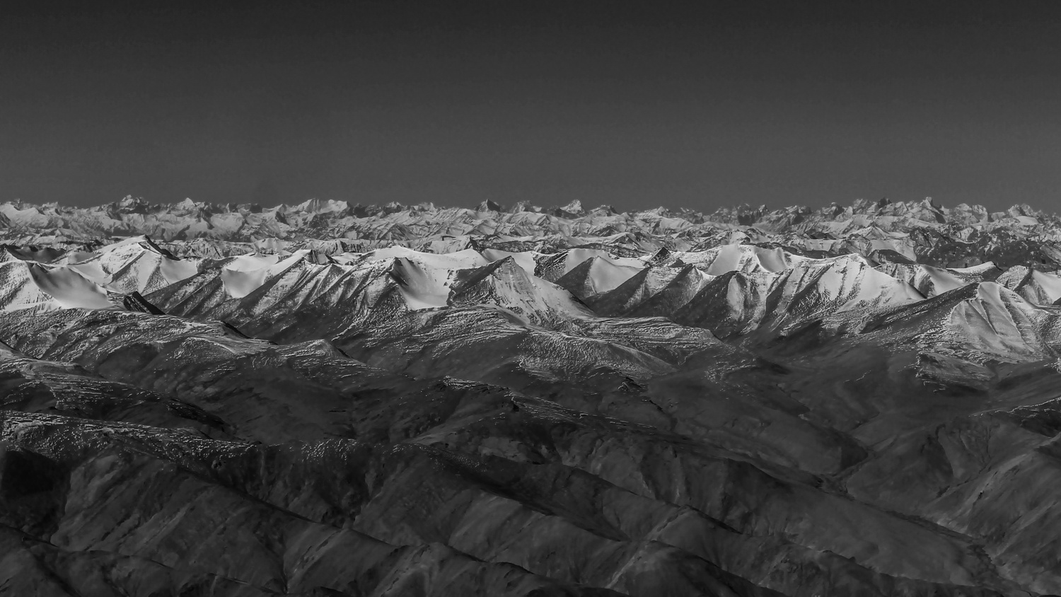 Seascape at 19,000 Feet by Manish Sinha