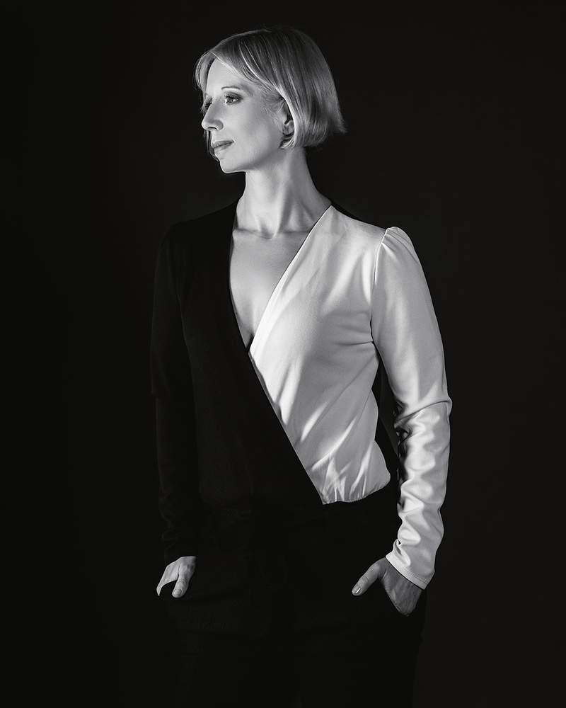 Black and White portrait by Matic Lipar