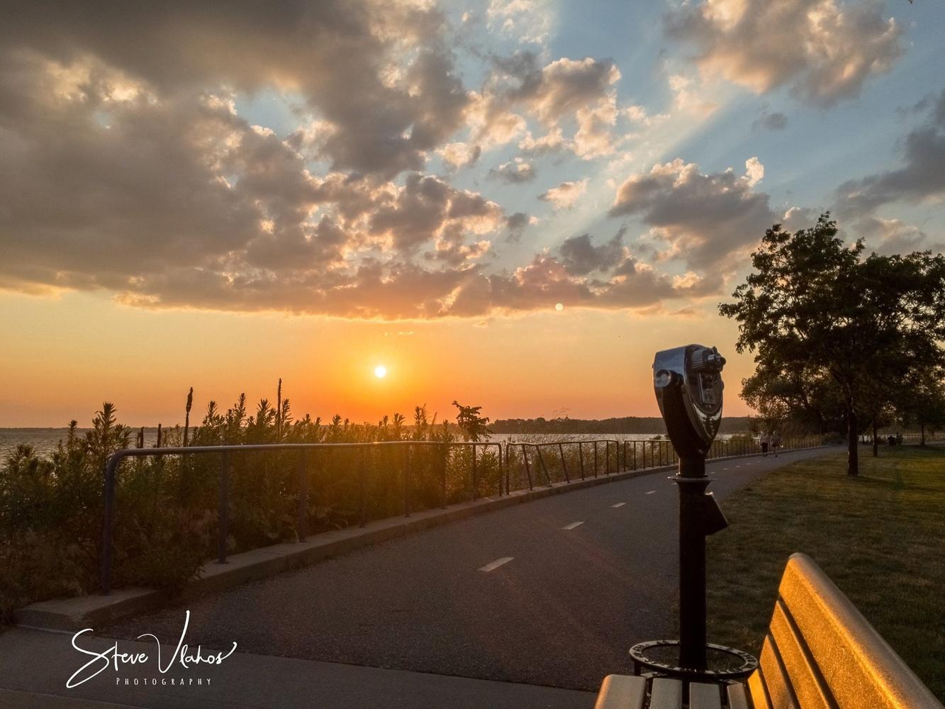 Sunset by Steve Vlahos