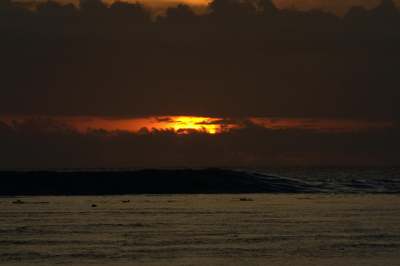 Sunset Waves by Shaun Botha