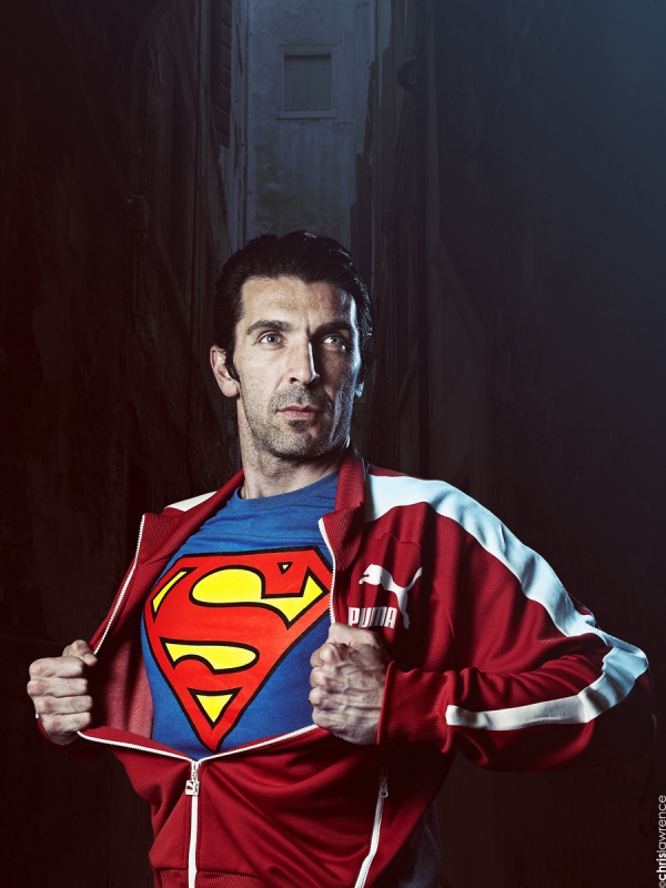 GIANLUIGI BUFFON by Chris Lawrence