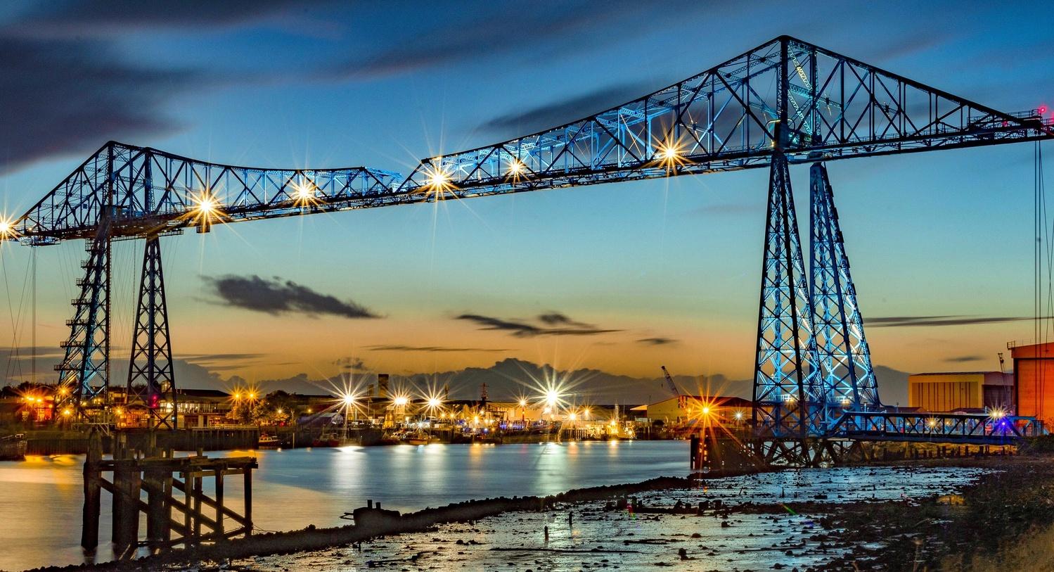 Transporter Bridge by Steve Franks