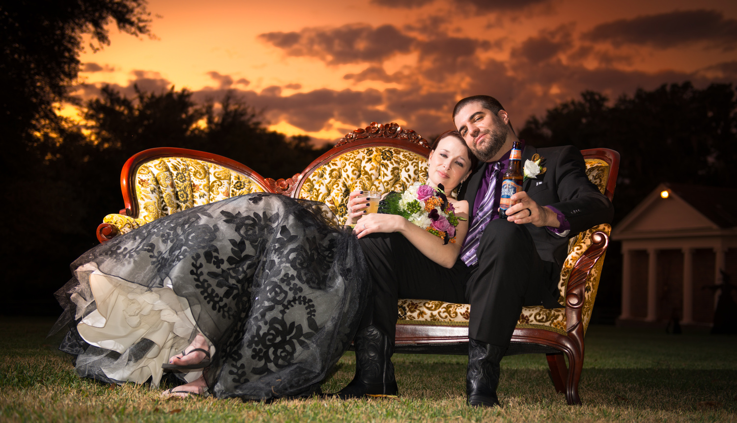 Sunset Wedding by Vince Smith