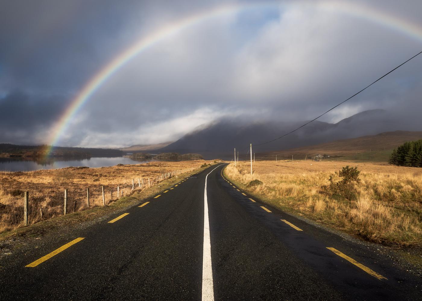 Rainbow Road by Sean O' Riordan