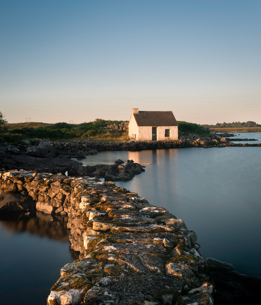 The Fishermans Cottage by Sean O' Riordan