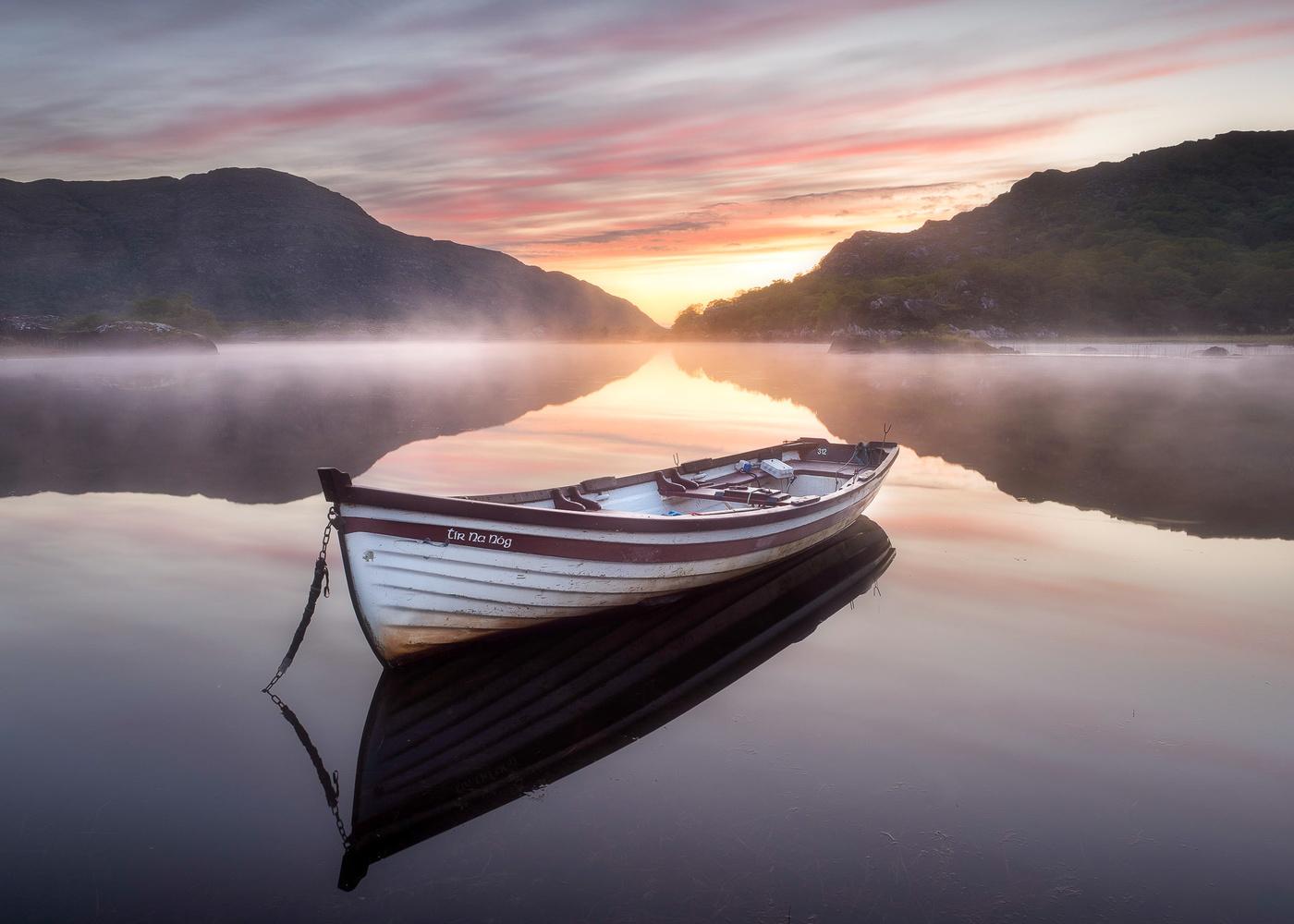 Upper Lake Sunrise by Sean O' Riordan