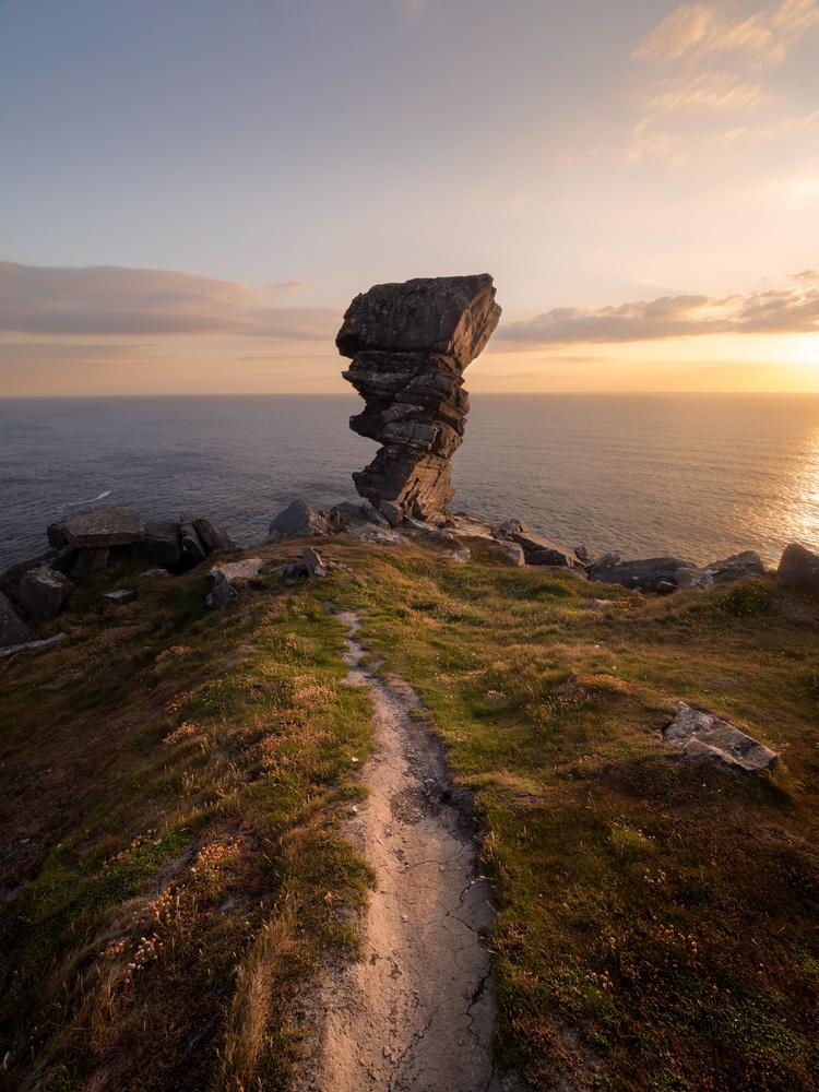 Hags Head Rock Formation by Sean O' Riordan