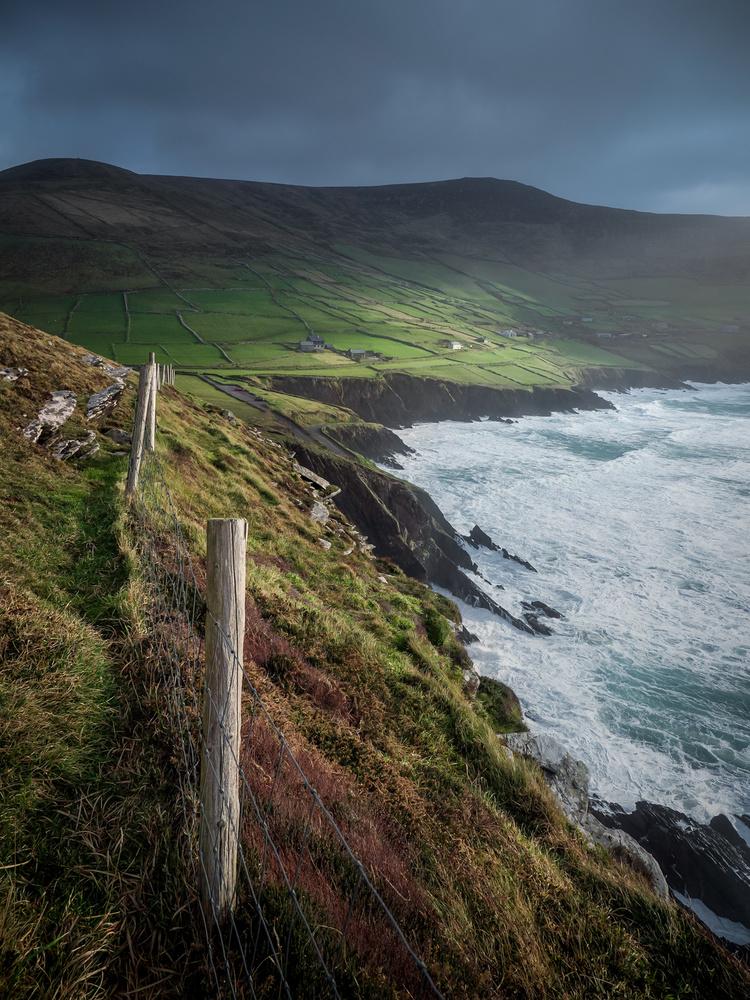 Dingle Light by Sean O' Riordan