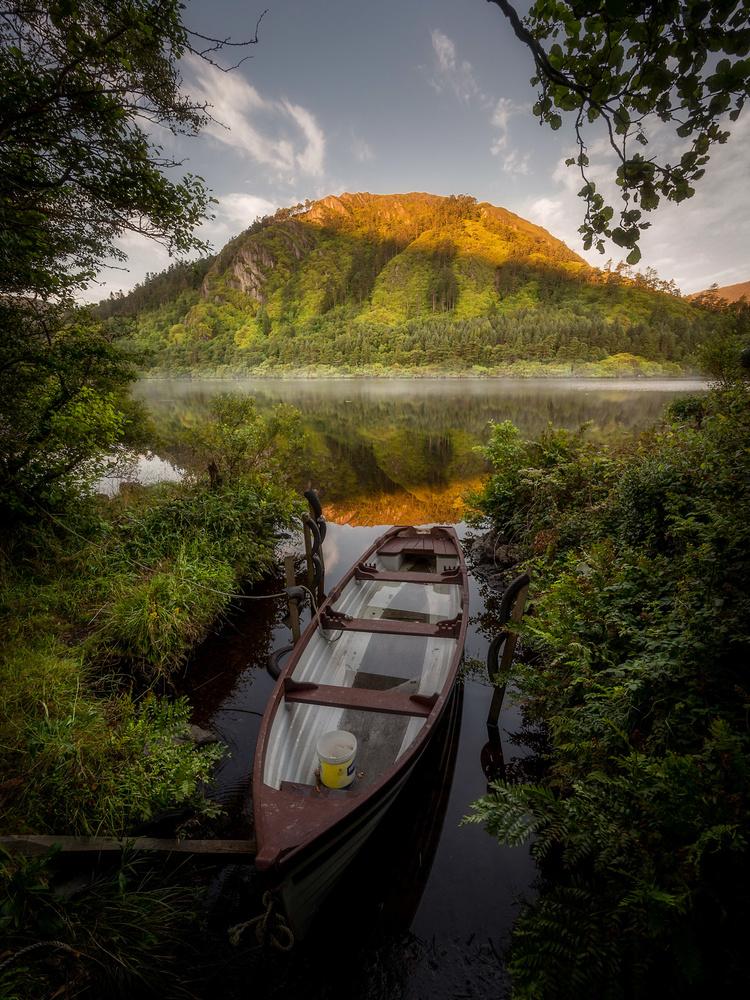 The Fishing Boat by Sean O' Riordan